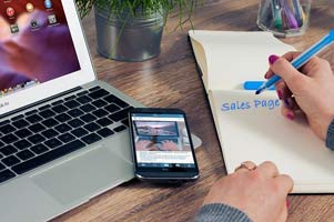 Converting Sales Page